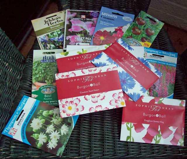 Garden Press Event seeds