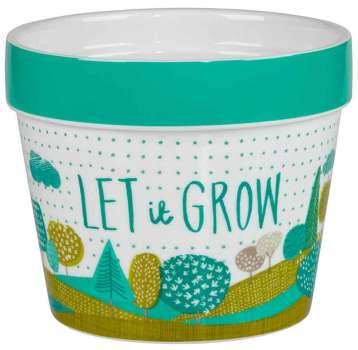 The Thoughful Gardener ceramic planter