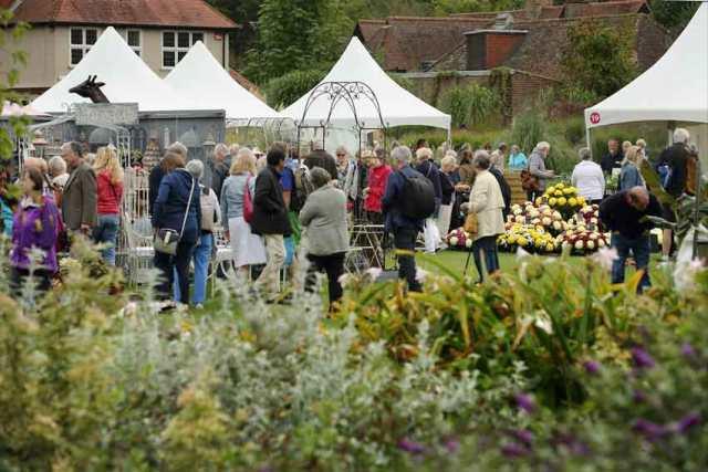Wisley Flower Show. Picture; RHS/Luke MacGregor