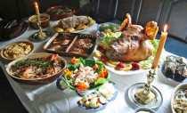 Georgian harvest feast