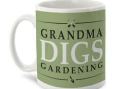 Personalised Mug - Digs Gardening, from Getting Personal