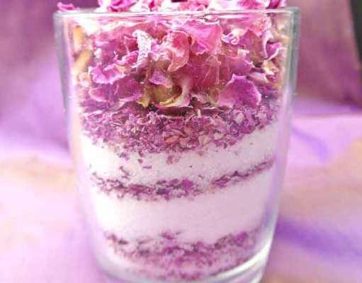 Rose sugar