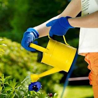 Kids' Master Gardener gloves in blue