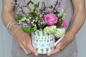 Sophie Allport Green Fingers mug