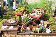 East Durham College's show garden 2015