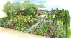 The Chris Evans Taste Garden