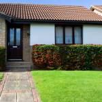 Brick lawn edging