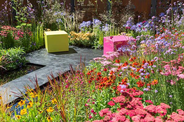 The Colour Box show garden