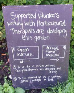 Volunteers sign
