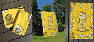 NGS tea towel. Picture; NGS