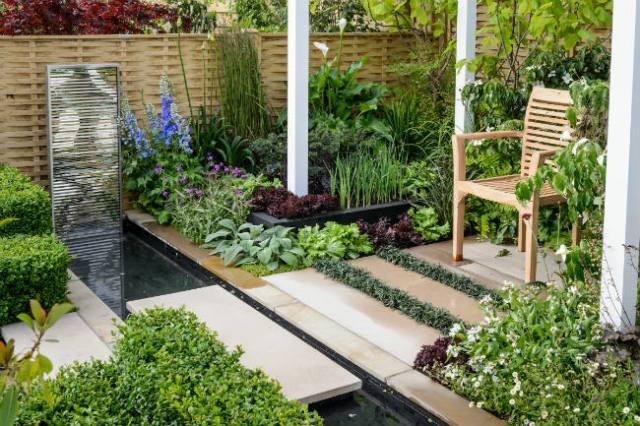 Professor David Stevens's Anniversary Garden from the 2017 show