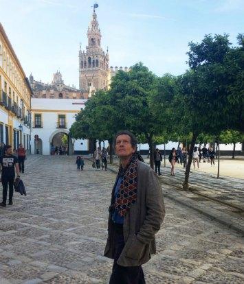 Monty Don in Alcazar, Spain. Picture; BBC/Blink Films/Alexandra Henderson