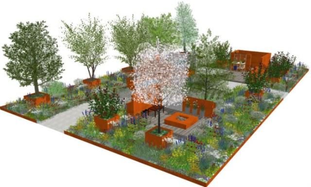 Hillier RHS Chelsea show garden