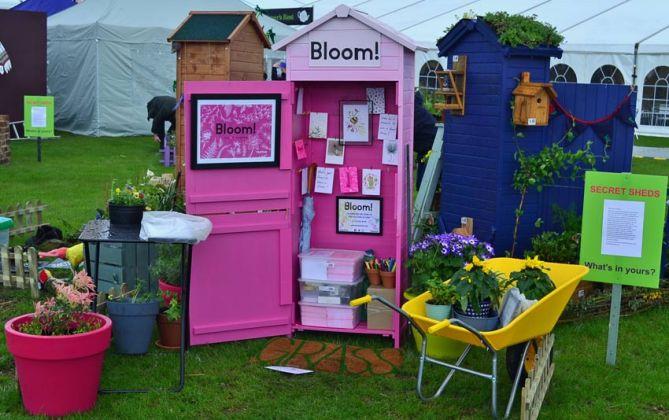 Bloom! shed