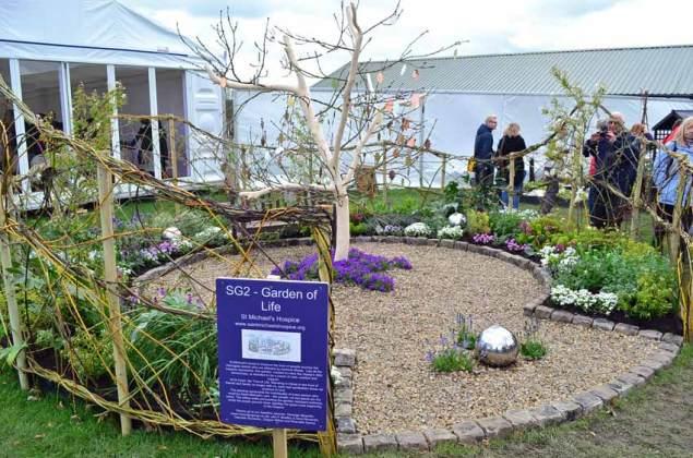 Garden of Life, St Michael's Hospice