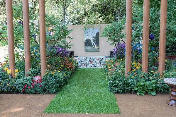 British Council Garden: India A Billion Dreams. Picture; RHS /Tim Sandall