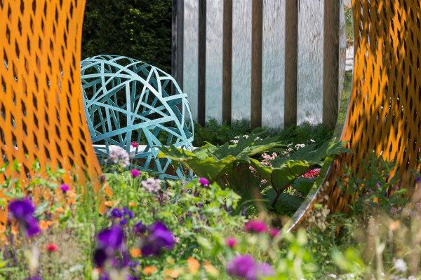 The David Harber and Savills Garden. Picture; RHS/Neil Hepworth