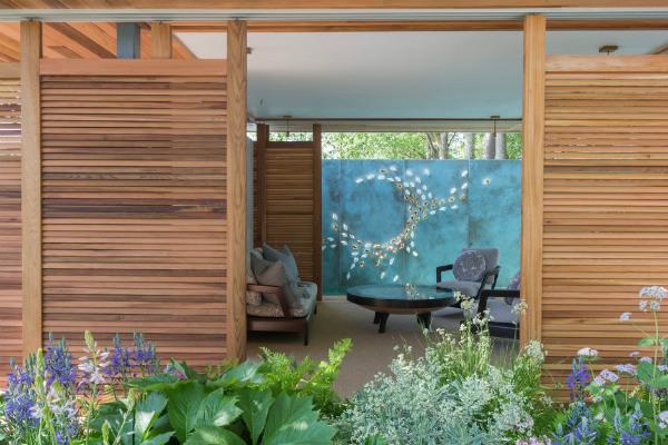 The Morgan Stanley Garden. Picture; RHS/Neil Hepworth