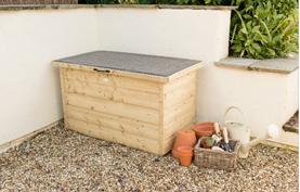 Forest Garden's storage box. Picture; Forest Garden