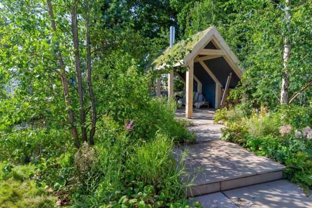Breckland Beauty Garden. Picture; RHS/Neil Hepworth
