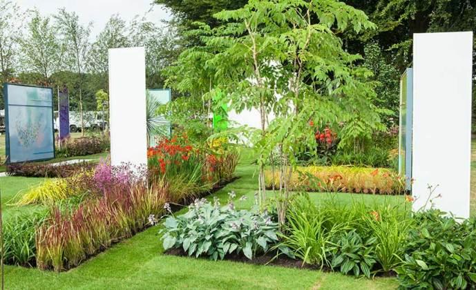 Future Art Garden. Picture; RHS