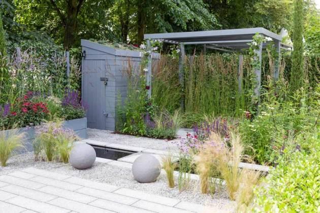 Secured by Design Garden. Picture; RHS/Neil Hepworth