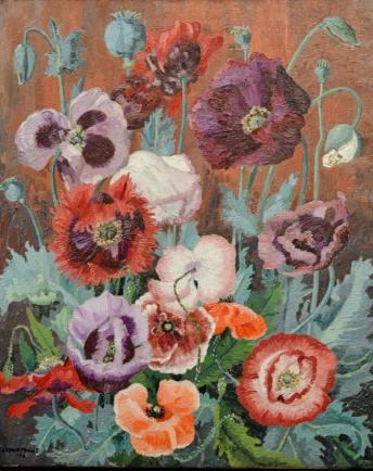 Cedric Morris's Poppies