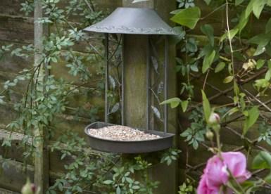 Secret Garden Wall Hanging Feeder. Picture; Peckish