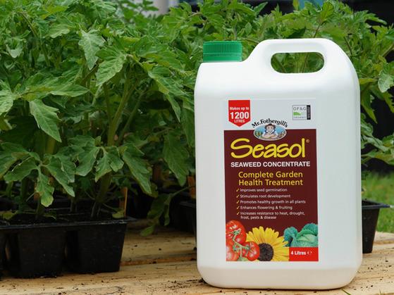 Seasol 4-litre bottle. Picture; Mr Fothergill's