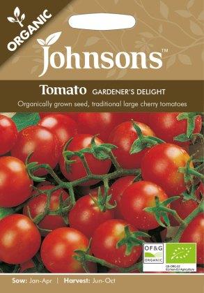 Tomato Gardeners Delight (Organic). Picture; Johnsons