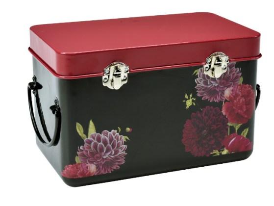 RHS British Bloom seed storage tin. Picture; Burgon & Ball