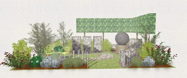 The Mental Health Garden by Jo Manfredi-Hamer Garden Design