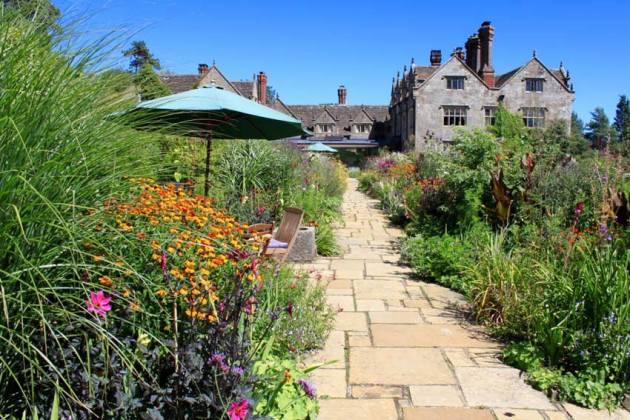 Great British Gardens Season by Season with Carol Klein at Gravetye Manor. Picture; Knickerbockerglory