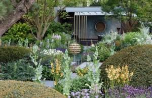 The Morgan Stanley Garden by Chris Beardshaw. Picture; RHS/Neil Hepworth