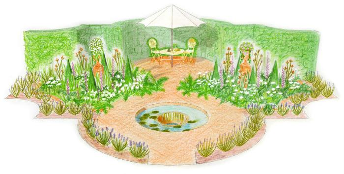 Baroque Garden. Picture; Laurence Senior