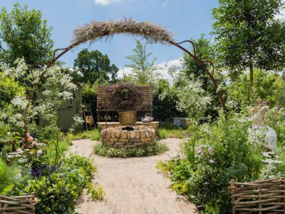The Naturecraft Garden by Pollyanna Wilkinson. Picture; RHS/Joanna Kossak
