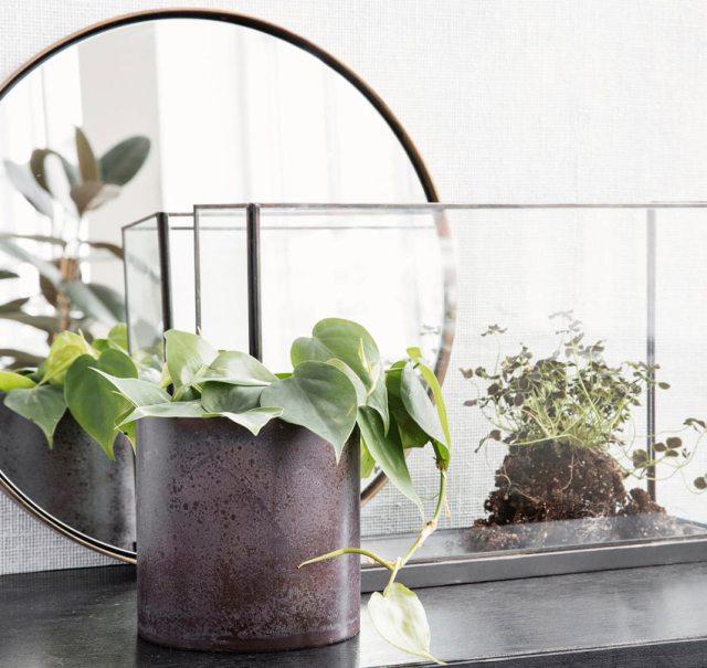 Luba Bordeaux Plant Pot. Picture; Urban Coo