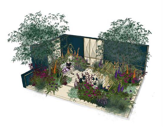 The Amaffi Garden by Tamara Bridge and Kate Savill-Tague