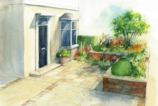 BBC Gardeners' World Live show garden 2