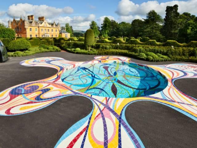 Jupiter Artland and Bonnington House. Picture; Allan Pollok Morris, courtesy Jupiter Artland