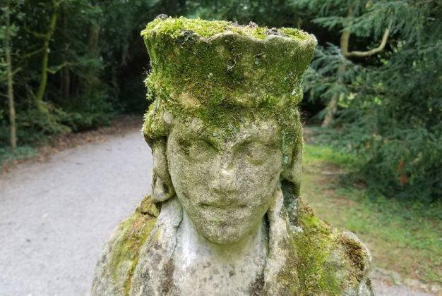 Mossy headdress