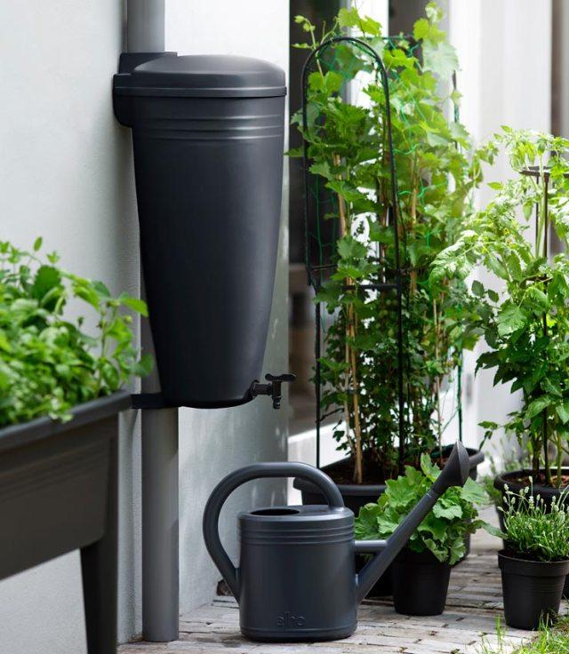 Green Basics 35-litre rain catcher. Picture; elho