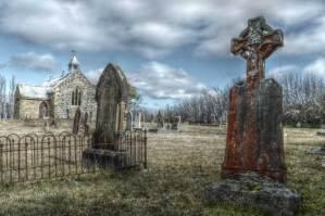 cemetery landscape