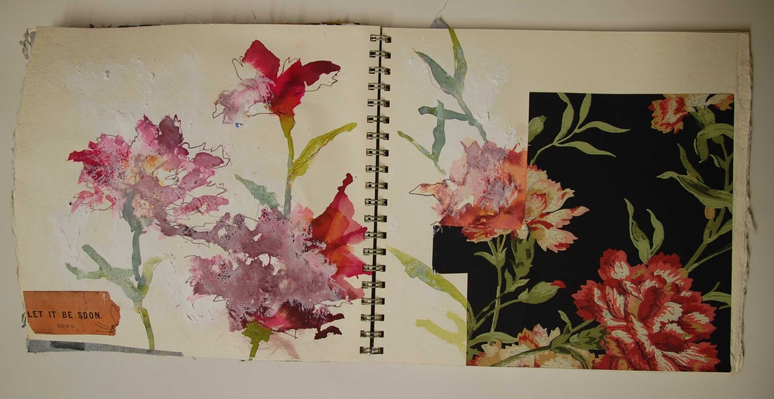 Fabric Books And Sketchbooks Mandy Pattullo