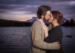 Two Jack Lake Engagement Session