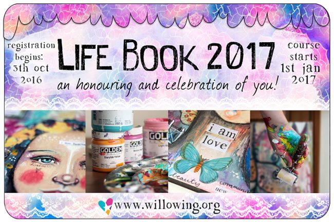 Life Book 2017: I'm teaching and you can win a FREE spot!!!