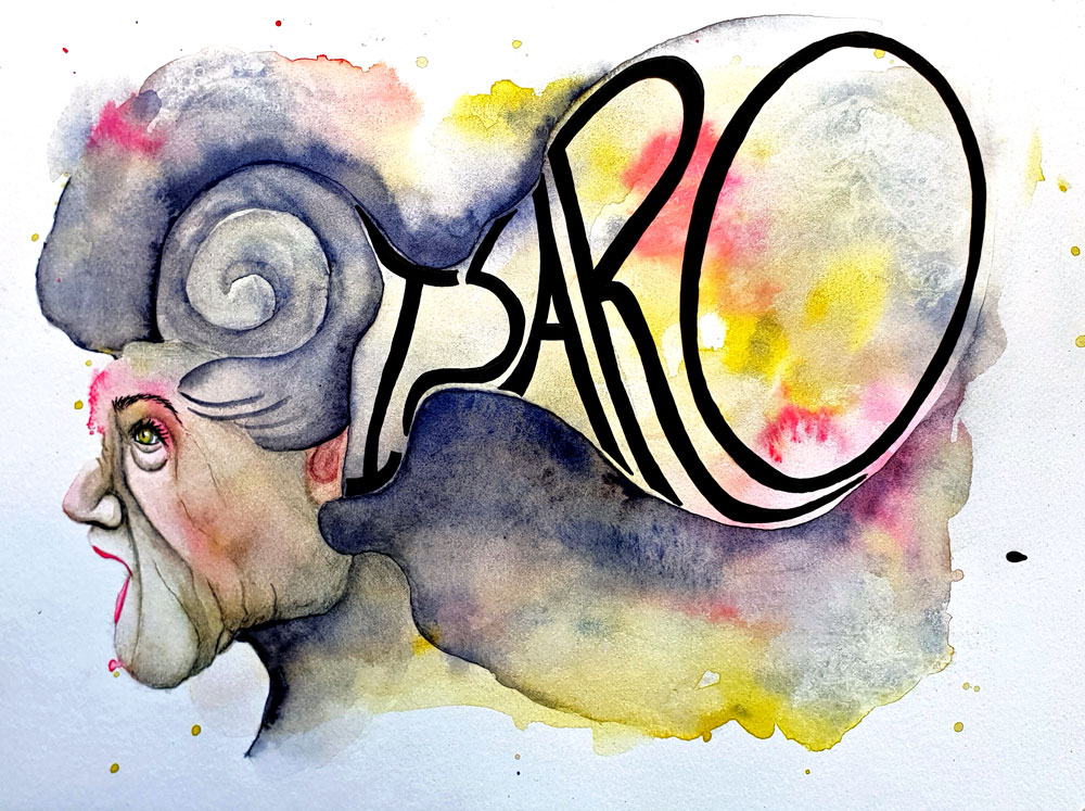 Isaro watercolor demo paintin by mandy van goeije
