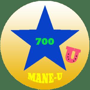 mane-u badge blue star