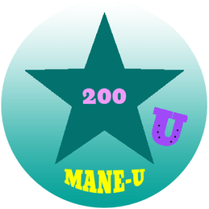 mane-u badge teal star