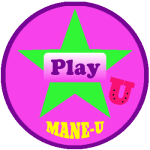 ManeU green star - play free horse trivia